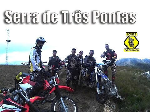 Trilha na Serra de Tres Pontas - Equipe Tatutraçado Racing