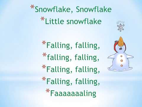 Little Snowflake  WITH voice
