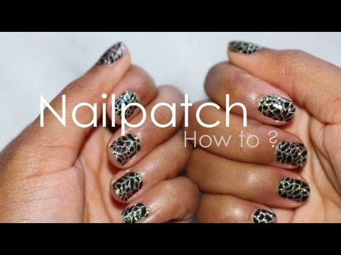 comment poser nail patch