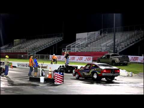 Nopi Dragster Burn out fail