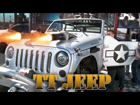 MACHINE GUN Twin Turbo WWII Jeep
