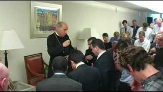 Besuch des Prälaten des Opus Dei in den Niederlanden