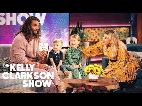 Kelly s Kids Ask Jason Momoa Their Burning Aquaman Questions