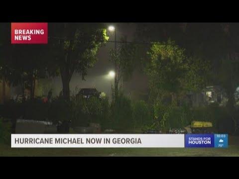 Hurricane Michael now in Georgia
