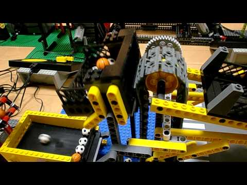 LEGO Rube Goldberg Machine