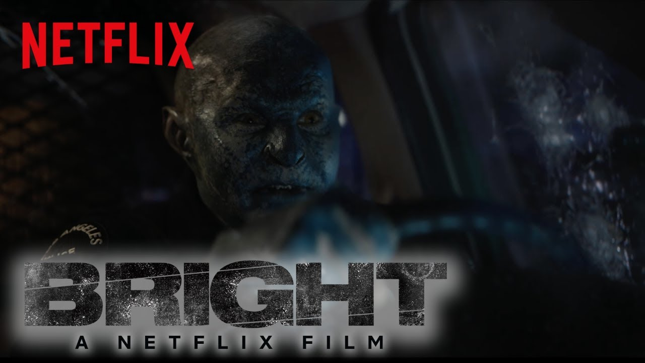 Will Smith & Joel Edgerton Experience a new World in Netflix's Sci-Fi Crime Fantasy 'Bright' (Clip) with Noomi Rapace