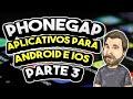 PhoneGap - Crie seu Primeiro APP para Android - Vídeo #3