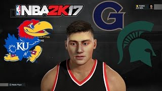 Starting off NBA 2K17 MyCareer with the best facescan I have ever gotten in any NBA2K game. College decision and gameplay featured. How to Properly Face Scan...