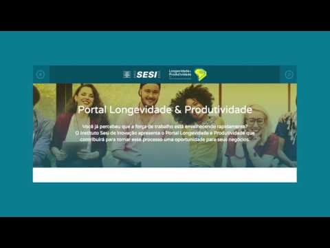 Conheça o Portal Longevidade & Produtividade do SESI PR