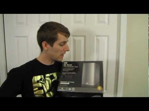 Western Digital WD MyBook Thunderbolt Dual External Hard Drive Unboxing & First Look Linus Tech Tips