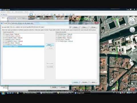Como añadir WMS en Google Earth