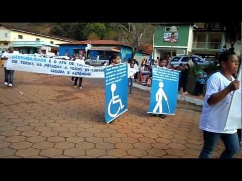 Desfile de 07de Setembro de 2012 em Dores de Guanhães