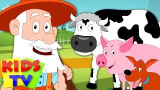 Video Old MacDonald Had A Farm | kids songs playlist | youtube kids | kids tv 123 song MP3, 3GP, MP4, WEBM, AVI, FLV Mei 2018