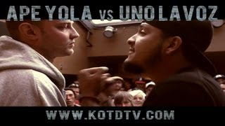 King of the Dot | Uno Lavoz vs. Ape Yola