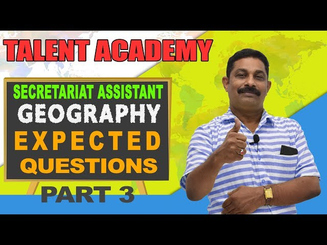 Get Full Marks for Geography with these Easy Tips (Part -3) | Kerala PSC | TALENT ACADEMY