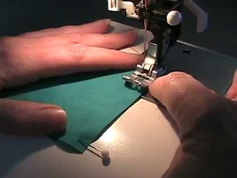 Sewing Machine - In this video I show you how to sew a straight line and turn a corner using a sewing machine. The downloadable practice page I mention in the video is availa...