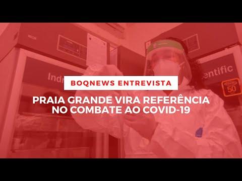 Prefeito de Praia Grande explica as razões para os baixos índices de letalidade
