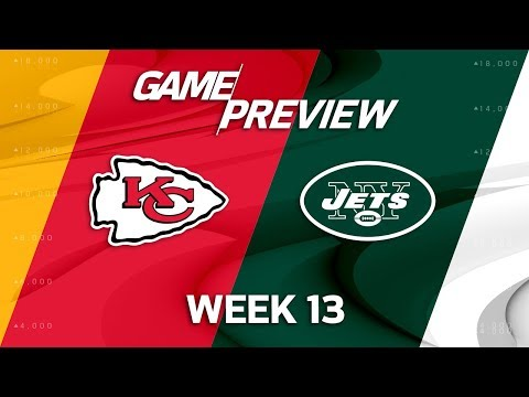 Video: Kansas City Chiefs vs. New York Jets | Week 13 Game Preview | NFL Playbook