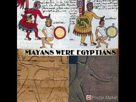 De Maya's waren Egyptenaren