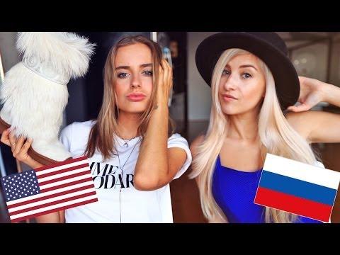 Russian VS American Fashion