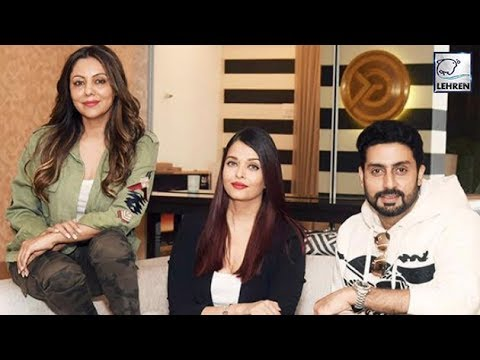 Aishwarya Rai And Abhishek Bachchan Spend New Year
