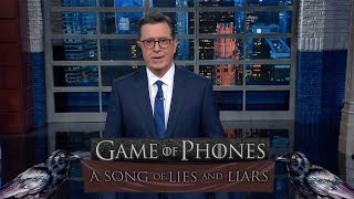 Stephen's Catchy Jingle Makes The Trump Impeachment Inquiry Easy To Understand
