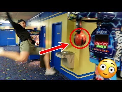 Won The Arcade Punch Bag Jackpot! *WORLD RECORD*