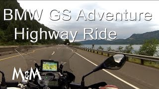 6. BMW R1200GS Adventure - Highway - Quick Review