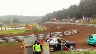Autocross Mölln September 2014 Klasse 7 / 3.Vorlauf