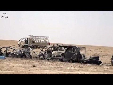 Ιράκ: Η διεθνής συμμαχία «αποδεκάτισε» κονβόι του ΙΚΙΛ