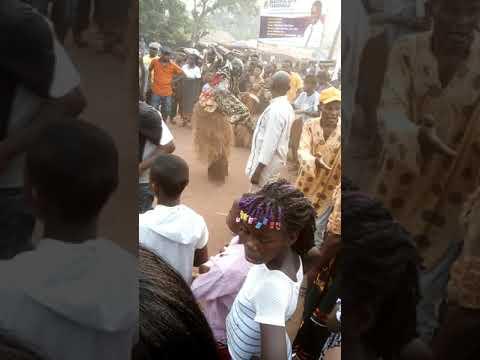Mbano masquerade dance