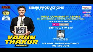 Varun Thakur talks about his US Tour with Sunny Moza on Radio Zindagi