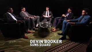 Ahead of Thursday's 2017 NBA Draft, Devin Booker caught up with Draft Prospects Jayson Tatum, Markelle Fultz, Malik Monk and...