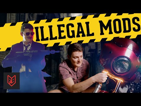 Illegal Motorcycle Mods that are Worth the Ticket
