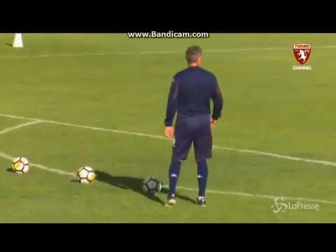 Torino Goalkeeper vs 48 years old Sinisa Mihajlovic...Amazing Freekicks