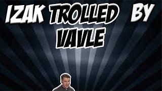 Izak Trolled by Valve Links ▻Mój kanał: https://www.youtube.com/channel/UCcUjS49_jnPR7KjMTTzUrPA ▻Kanał Izaka: ...