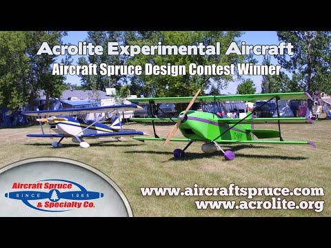 Acrolite 1 B experimental aircraft kit, ultralight aircraft kit in Canada.