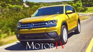 SUV : ALL NEW 2018 VOLKSWAGEN ATLAS l BEAUTY SHOTS l DRIVING SCENES