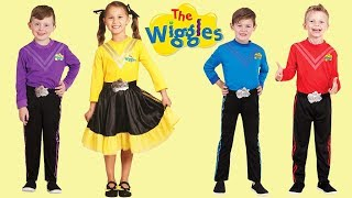 The Wiggles Costumes - Emma, Lachy, Simon & Anthony