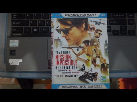 Opening to Mission Impossible: Rogue Nation 2015 DVD