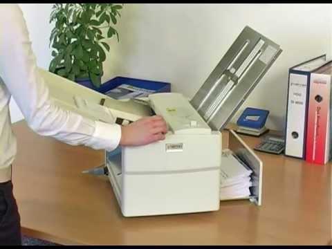 Falzmaschine TF Maxi: Die clevere Art, Papier bis DIN A3 zu falzen