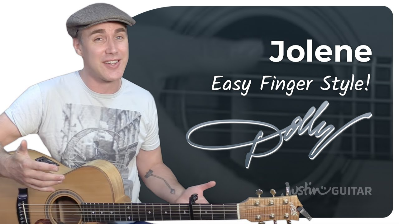 How to play Jolene by Dolly Parton – Guitar Lesson Tutorial Country Fingerstyle Strumming Beginner