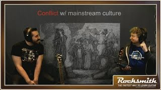 Few musical genres engender such debate and confusion as metal. Our own metal scholar Arthur von Nagel -- himself a death metal bassist and vocalist -- offers the perfect primer for the curious. He covers the genre's origins, its evolution, and definitively explains some of the most popular and contentious subgenres. It's legit!  -- Watch live at https://www.twitch.tv/rocksmithgame