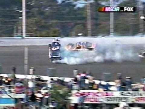 Dale Earnhardt Sr. Fatal Crash *Live With Replays*
