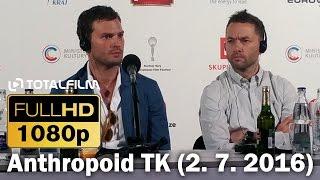 tisková konference k filmu Anthropoid 2. 7. 2016 MFF Karlovy Vary  odebírat kanál: http://goo.gl/Zh6erO náš web:...
