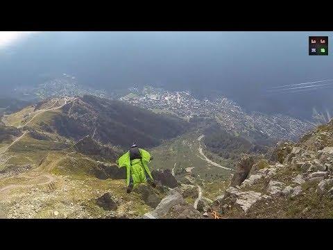 【精彩視頻】飛鼠裝滑翔運動 Wingsuiting~