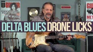 Video Delta Bluesy Drone Licks in the Key of E with Andy Aledort MP3, 3GP, MP4, WEBM, AVI, FLV Juni 2018