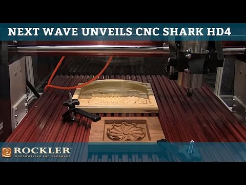 Cnc shark hd4 rockler woodworking and hardware Video hd4