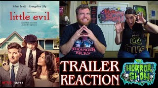"""Nonton """"Little Evil"""" 2017 Netflix Horror Comedy Trailer Reaction - The Horror Show Film Subtitle Indonesia Streaming Movie Download"""