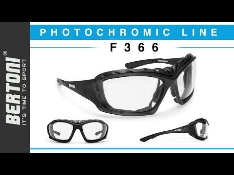 Occhiali da Moto Bertoni F366 Tutorial
